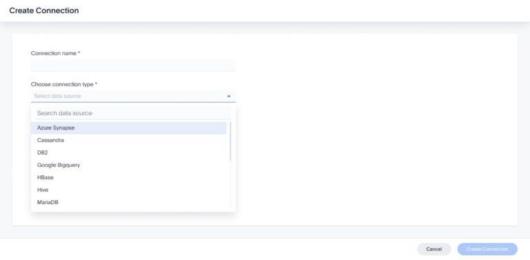 Dataflow: Dataflow ermöglicht als Pendant zu Embrace die einfache Verlagerung von Daten aus Datenquellen in die In-Memory-Datenbank (IMDB) Falcon. Dafür müssen sich die Anwender mit der Datenquelle verbinden, woraufhin eine Vorschau der Daten angezeigt wird. Anschließend wählt der Nutzer die Daten aus, die er gerne verschoben hätte.
